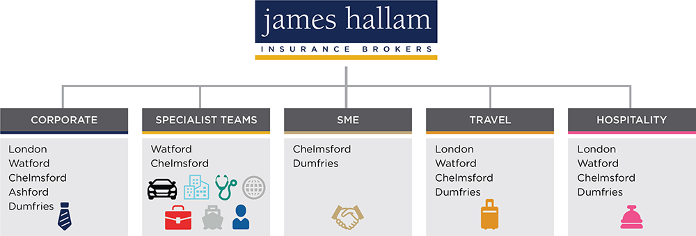 James Hallam Corporate Structure