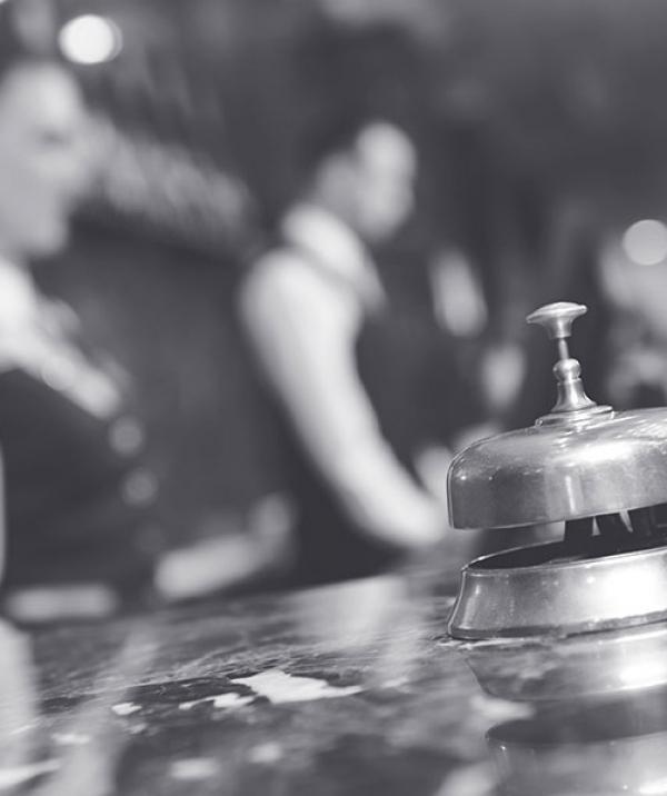 Hospitality Insurance Desk Bell